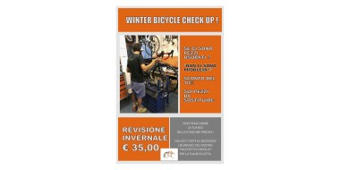 Winter check up !!! proteggi la tua bici