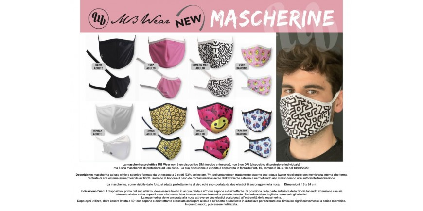 MASCHERINE MB WEAR